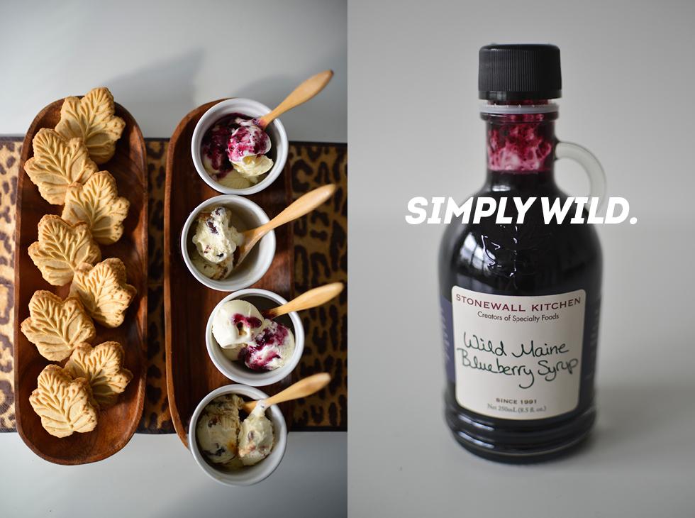 Easy Wild Dessert: Maple Cream Cookies and Ice Cream